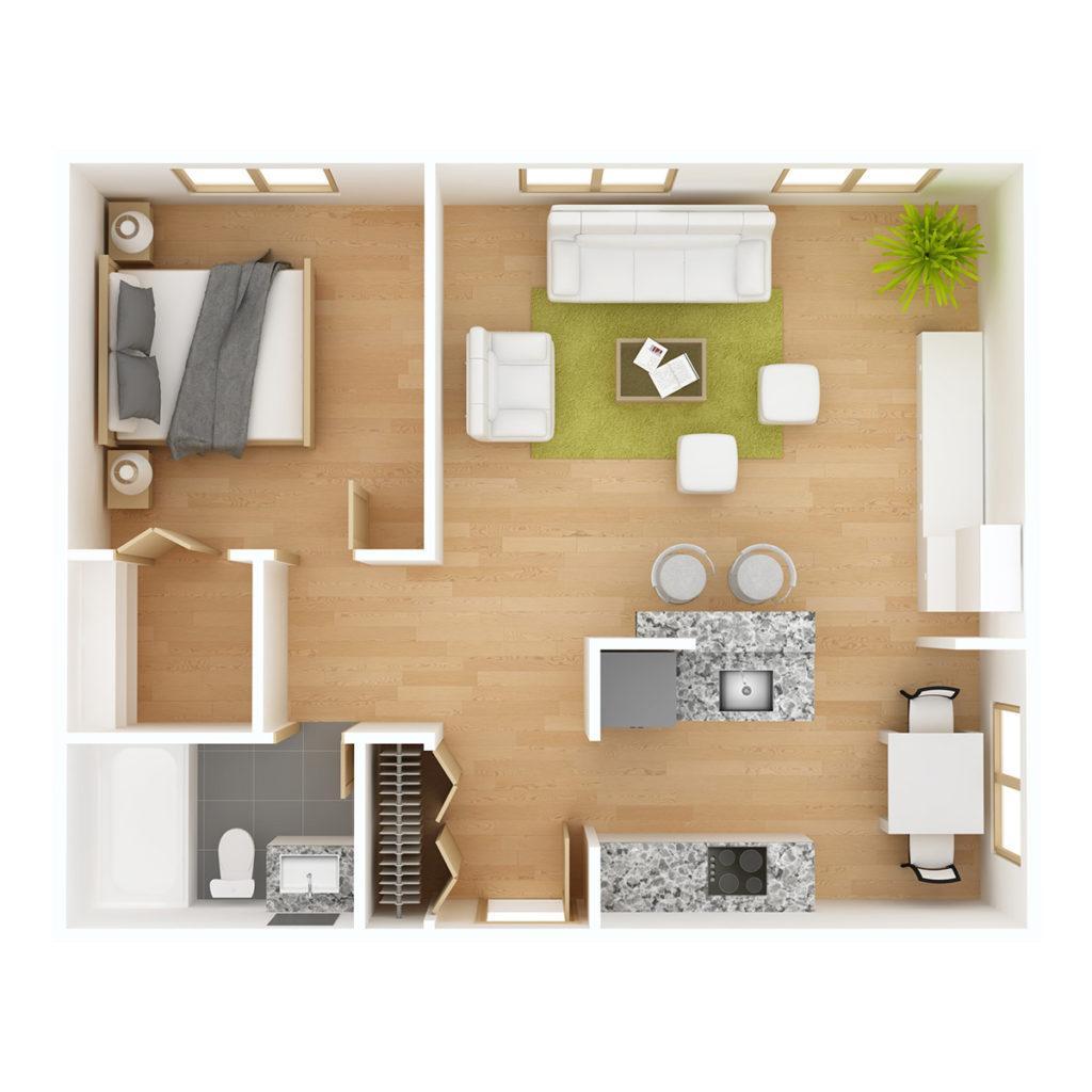 Huoneistoala on tärkeä tieto asuntokaupassa.