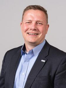 Kim Malmivaara on osa Raksystemsin operatiivista ohjausryhmää.