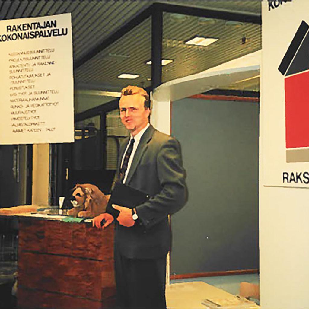 Marko Malmivaara yrityksen alkuvuosina