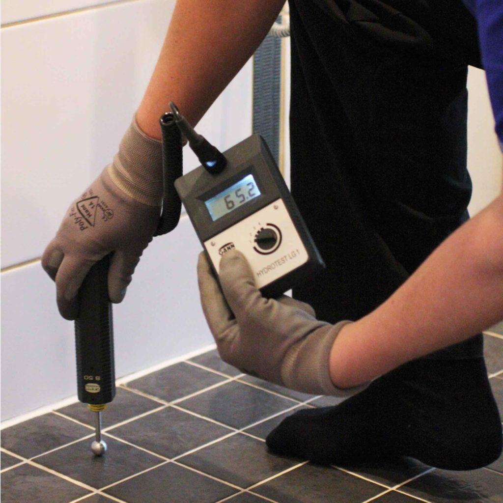 Märkätilojen kosteuskartoituksella ajoitat märkätilaremontin oikein