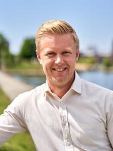 Raksystems qb3 projekt toimitusjohtaja Fredric Ståhl